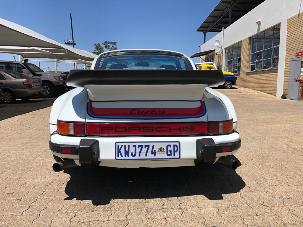 1980 930 Porsche Turbo Rear