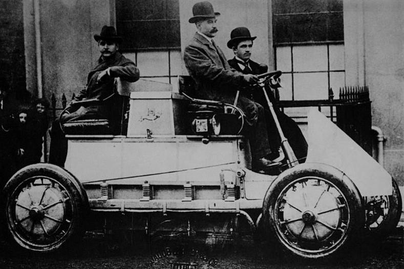 RS Autosport. 1900 First Hybrid Porsche Vehicle.
